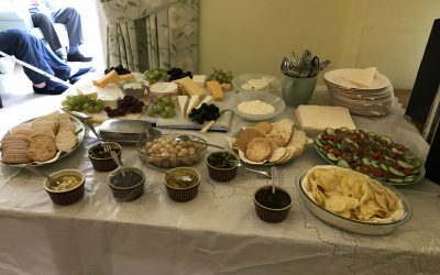 Cheese and Wine Party at Mulgrave Road