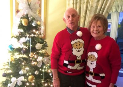 Mr and Mrs Maggs. Lyn Maggs is the House Team Leader for Mulgrave Road