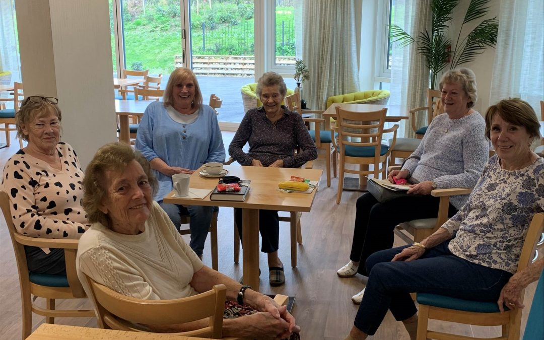 Friendships form at Nonsuch Abbeyfield